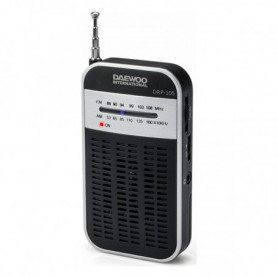 Radio Transistor Daewoo DRP-105 S FM/AM Noir Gris