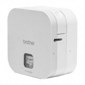 Imprimante pour Etiquettes Brother PTP300BT Cube 180 dpi 20 mm/s Blanc