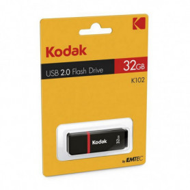 Pendrive Kodak K102 USB 2.0 Noir