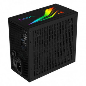 Source d'alimentation Gaming Aerocool LUXRGB650M RGB 650W Noir