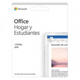 Microsoft Office 2019 Home & Student Microsoft 79G-05166 (Espagnol)