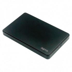 """Boîtier pour disque dur approx! APPHDD300B 2,5"""" SATA USB 3.0 Noir"""