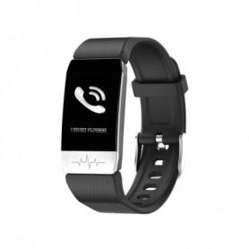 """Bracelet d'activités KSIX Thermometer HR 1,4"""" Bluetooth 90 mAh Noir"""