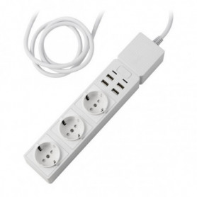 Multiprise Intelligente Edimax SP-1123WT USB 2300W Blanc