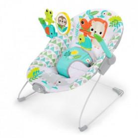 BRIGHT STARTS Transat bébé Spinnin' Safari avec vibration
