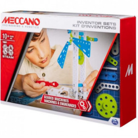 MECCANO Kit d'inventions –  Set 3 Engrenages