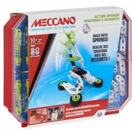 MECCANO - SET 4 KIT COMPLET D'INVENTIONS RESSORTS Meccano - 6053909