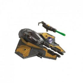 Star Wars Mission Fleet – Véhicule chasseur Jedi et figurine Anakin