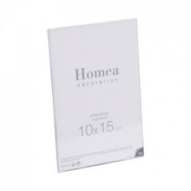 Porte-photo magnétique Homea 10x15 cm transparent