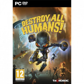 Destroy All Humans sur PC, un jeu Action pour PC