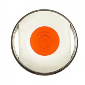 BIISAFE Buddy Traqueur GPS - Blanc/Orange