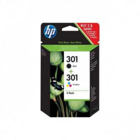 HP 301 Pack de 3 cartouches Jet d'encre