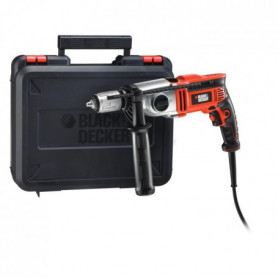 BLACK & DECKER Perceuse a percussion KR1102K 1100W