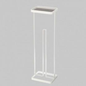 GERSON Porte rouleau papier avec plateau - 16x12x54cm