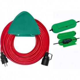 BRENNENSTUHL Rallonge électrique rouge 40m H05VV-F