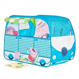 PEPPA PIG Tente Enfant de Jeu Camping-Car GetGo
