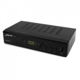 ASTRELL 011140 Décodeur TNT HD - DVB-T2/HEVC