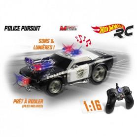 MONDO - Hot Wheels - Police Poursuite - Voiture radiocommandée