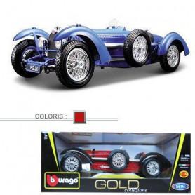 BBurago Voiture de collection en métal 1/18 Bugatti