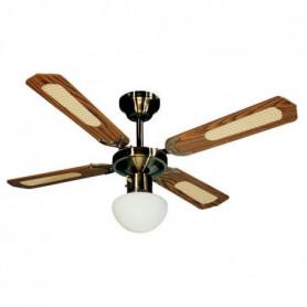 FARELEK - BALI é 107 cm - Ventilateur de plafond