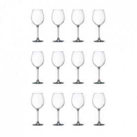 LIBBEY CLARET Lot de 12 verres a eau 24 cl transparent