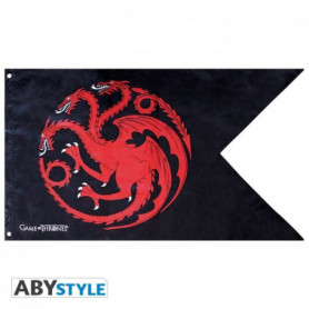 Drapeau Game Of Thrones - Targaryen