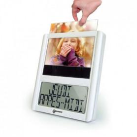 GEEMARC Horloge numérique avec cadre photo VISO 5
