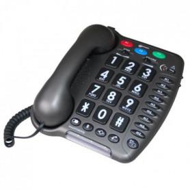 ARC Téléphone fixe AMPLIPOWER 50 - Gris anthracite
