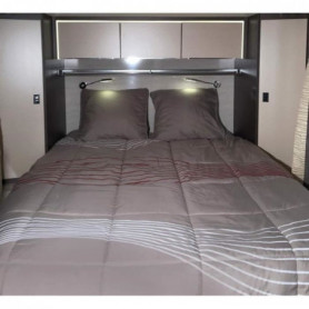 MIDLAND Lit Tout Fait 140x190 cm - Linge de lit ca
