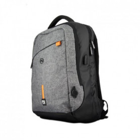 FOLLOW UP Sac a dos Micro USB Gris Mixte