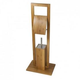 FRANDIS Combiné WC bambou