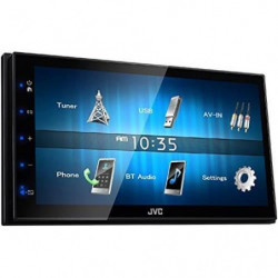 JVC Autoradio 2 DIN Multimédia KW-M24BT