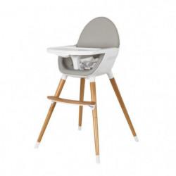 TANUKI Chaise haute Ergonomique - Bois - Bébé mixte - Blanc