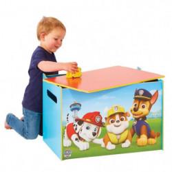 PAT PATROUILLE Coffre a jouets en bois