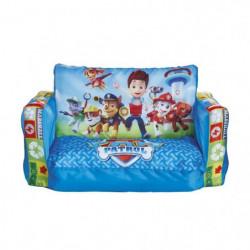 PAT PATROUILLE Canapé Enfant Gonflable et Dépliable 2 en 1