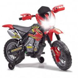 FEBER - Moto Cross 400F - Véhicule Electrique pour Enfant 6V