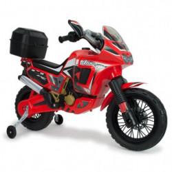 INJUSA Moto électrique enfant Honda Africa Twin 6V