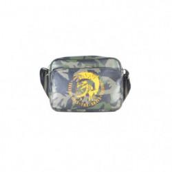 DIESEL Sac d'épaule petit camouflage X00875 P0330 VERT