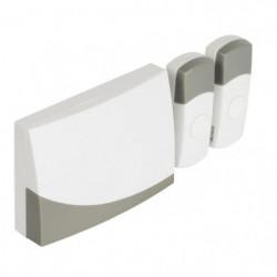KONIG Sonnette sans fil deux portes avec batterie 70 dB