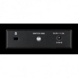 D-LINK Switch de bureau DGS-1005P - Gigabit Poe+ 5 ports