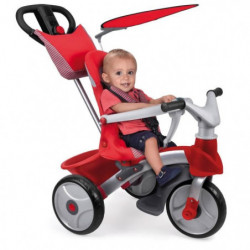 FEBER - Tricycle Baby Trike Easy Evolution - Rouge